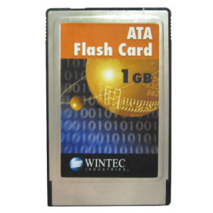 Wintec 1GB ATA PC Card PCMCIA Flash Card 68pins pictures & photos