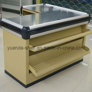 Steel Supermarket Shop Checkout Cashier Currency Counter pictures & photos