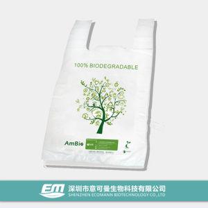 Environment Friendly Degradable T-Shirt Bag