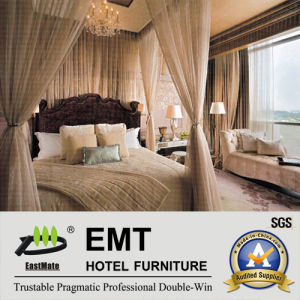 Wooden Luxury Classical Hotel Bedroom Furniture (EMT-SKB05) pictures & photos