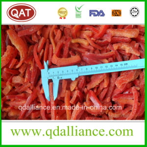 IQF Frozen Red Pepper Strips pictures & photos