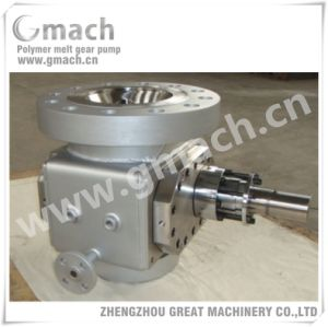 Melt Gear Pump for Pet Polymer Reaction Kettle pictures & photos