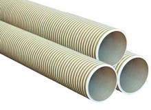 PVC Double-Wall Corrugated Pipe for Drainage and Sewerage pictures & photos