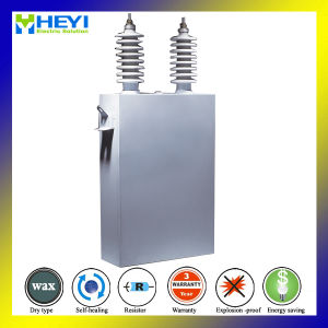 Medium Voltage Capacitor 6.3kv 100kvar Single Phase pictures & photos