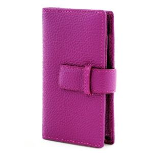 Fashionable Genuine Leather Pouch Case for iPhone/Apple/Samsung pictures & photos