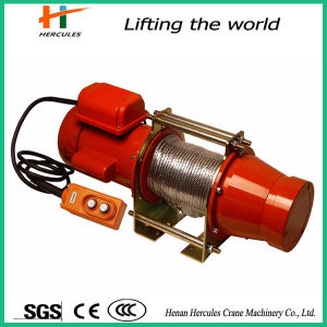500kg Electric Wire Rope Winch for Sell pictures & photos