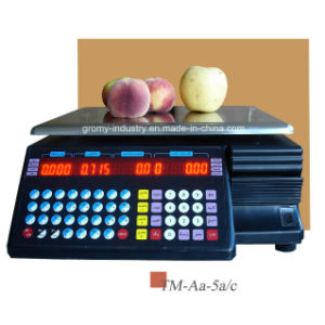 Digital Electronic OIML Barcode Printing Scale (TM-AA-5A/c) pictures & photos