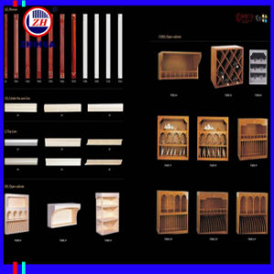 Classical Style PVC Door for Kitchen Cabinet (ZH042) pictures & photos