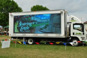 Truck LED Display, LED Moving Display, LED Mobile Sign pictures & photos