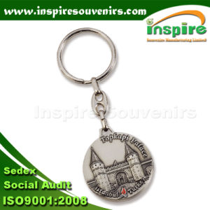 Embossed Souvenir Metal Keychain for Gift (SK201C) pictures & photos