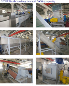 PE PP Waste Bottle and Film Washing Recycling Drying Machine pictures & photos