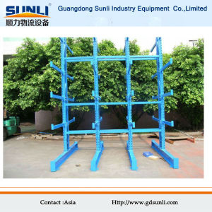 Heavy Duty Warehouse Storage Cantilever Rack for Car pictures & photos