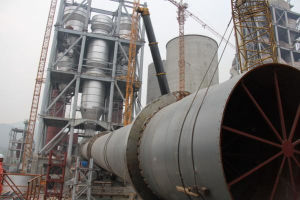 1500t/D Cement Rotary Kiln Production Line Project pictures & photos