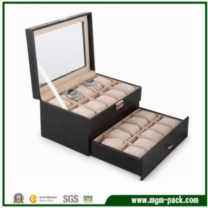High Quality Packing Wooden Display Watch Case pictures & photos