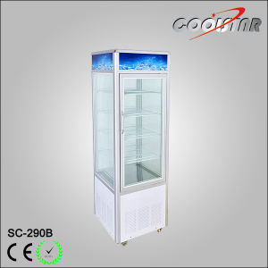 10 Cubic Feet Vertical Cooling Showcase with Four Glass Door pictures & photos