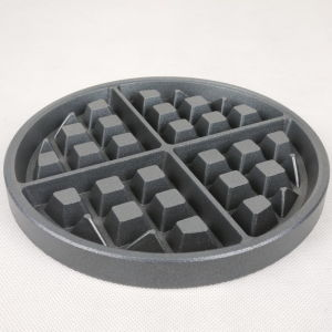 Casting Waffle Maker Aluminum Non-Stick Coating Waffle Plate, Grids pictures & photos