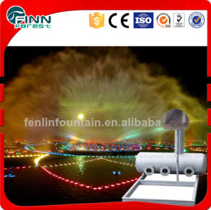 Outdoor Lake Water Curtain Screen Nozzle Fanshaped Screen Fountain pictures & photos