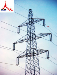 220 Kv Power Transmission Lattice Tower with Single Circuit pictures & photos