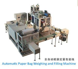 Automatic Paper Bag Flour Powder Packing Line pictures & photos