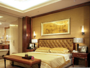 Luxury Kingsize Hotel Bedroom Furniture/Standard Hotel Single Room Set (GLB-00002) pictures & photos