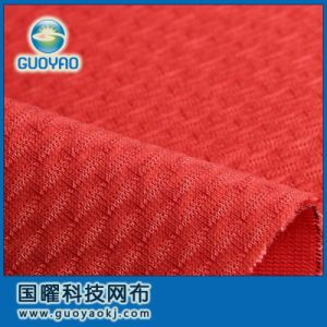 Hi-Tec 100% Polyester Sandwich Mesh Fabric Gys018 pictures & photos