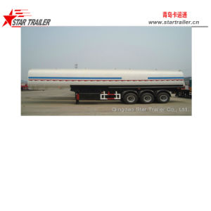 45L 3 Axle 5 Compartment Fuel Tank Semitrailer pictures & photos