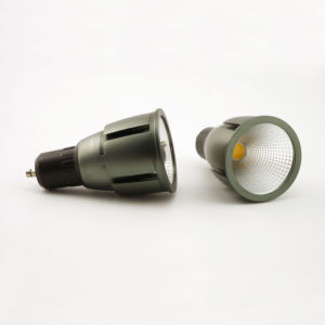 Aluminum 7W COB LED Recessed Spotlight GU10 Bulb pictures & photos