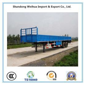 3 Axles Utility Cargo Trailer Side Wall Semi Trailer pictures & photos
