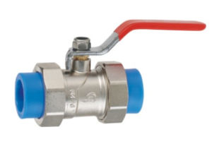New PPR Water Supply Fittings Series Copper Ball Valve pictures & photos