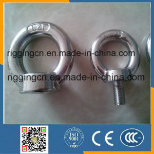 Hot Sale Polished Stainless Steel Rigging Eye Bolt DIN580/582 for Marine Accessories Machine with Shoulder pictures & photos