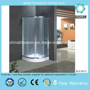 Tempered Acid Glass Simple Shower Room/Cubicle with CE (BLS-9513) pictures & photos