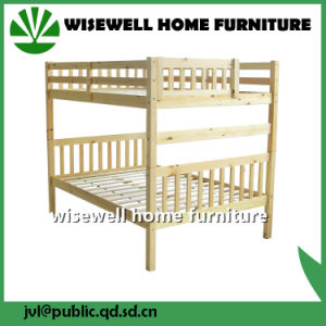 Pine Wood Double Size Bunk Beds (WJZ-B709) pictures & photos