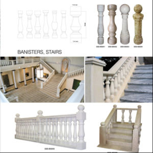 Guangxi White Marble Baluster, Stair Balusters pictures & photos