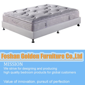 Golden Brand Bamboo Pillow Top Pocket Spring Mattress pictures & photos