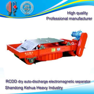 Rcdd Dry Auto-Discharge Electromagnetic Iron Separator for Powder and Granular Material