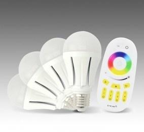 2.4G Remote/ WiFi RGBW Bulb (KSF114D0F)