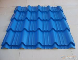 Fire Resistance Corrugated Steel Metal Roofing Tiles pictures & photos