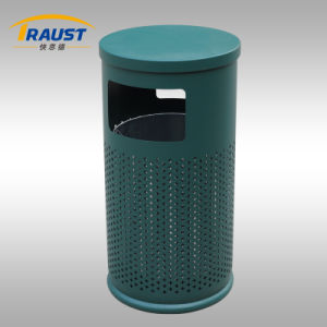 Chinese Manufacturer Outdoor Heavy Green Dustbin pictures & photos