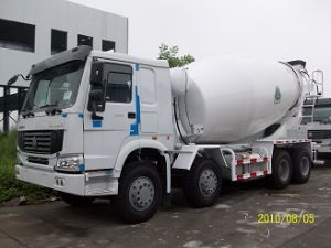 Sinotruk HOWO Chassis 6X4 and 8X4 12cbm Concrete Mixer Truck pictures & photos