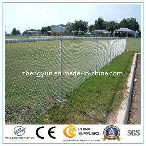 Hot Dipped Galvanized Cyclone Mesh /Chain Link Fence pictures & photos