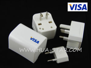 3 in 1 Travel Adapter with CE&RoHS Approved pictures & photos