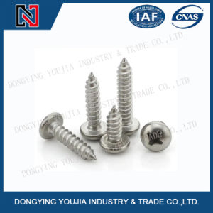 Yb845 Stainless Steel Cross Recessed Pan Head Tapping Screw pictures & photos