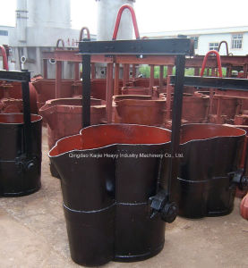 Bottom Pouring Steel Ladle/ Slide Gate Casting Ladle Manufacturer/Superior pictures & photos