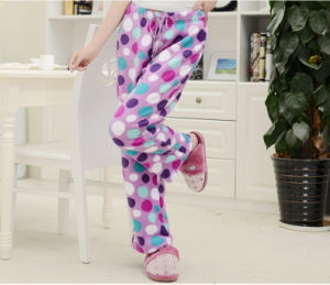 100% Polyester High Quality Cozy Fleece Plush Pants
