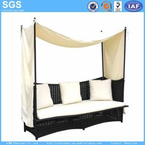Leisure Furniture Hotel Furniture Rattan Sofa Bed Daybed pictures & photos