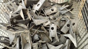 Pressing Steel Angle Part with Holes pictures & photos