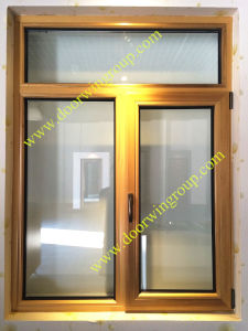 European Quality Solid Wood Aluminium Window, Tilt Turn Casement Window, High Quality Inswing or Outswing Wood Aluminum Window pictures & photos