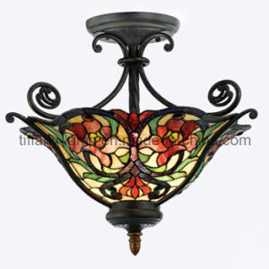 Fancy Style Tiffany Ceiling Lamp (TC19001)