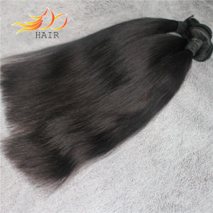 Full Cuticle Straight Peruvian Virgin Human Hair pictures & photos
