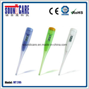 3000PCS MOQ Clinical Digital Thermometer with Lr41 Battery (MT205) pictures & photos